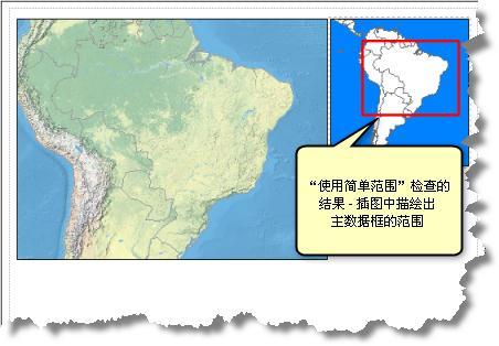 鹰眼图或定位器地图