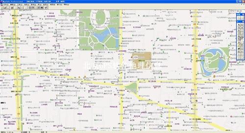 北京市电子地图矢量数据