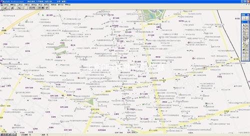 哈尔滨市电子地图矢量数据