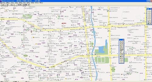 昆明市电子地图矢量数据