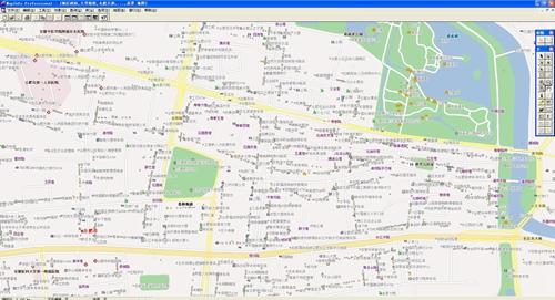合肥市电子地图矢量数据