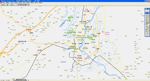 桂林市电子地图矢量数据