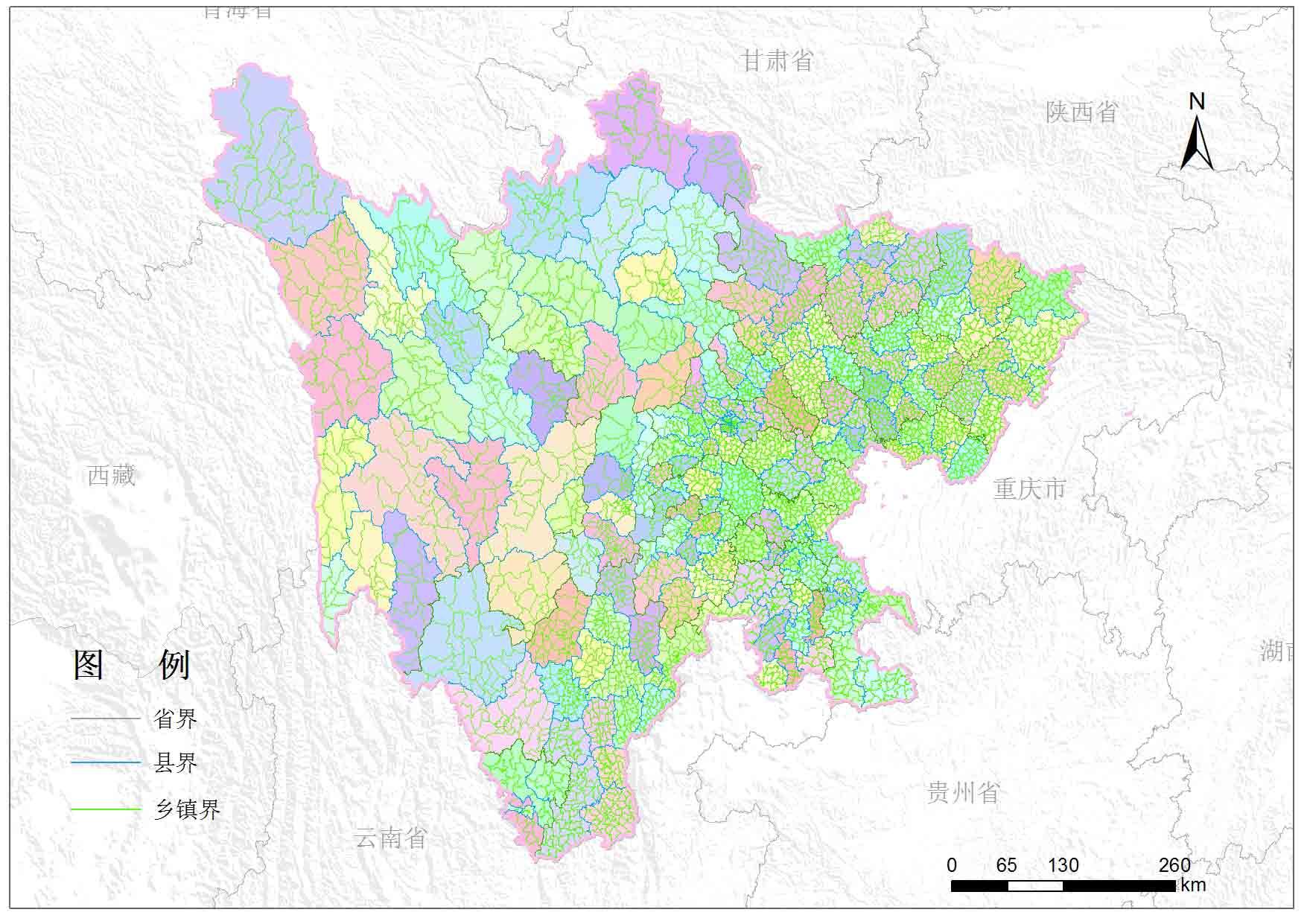 四川省乡镇行政区划-地图数据-地理国情监测云平台