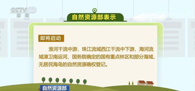 自然资源部:我国自然资源确权登记稳步推进